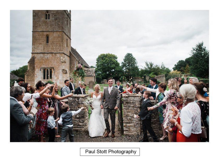 wedding confetti 001 - Crow Farm - Gemma and Phil