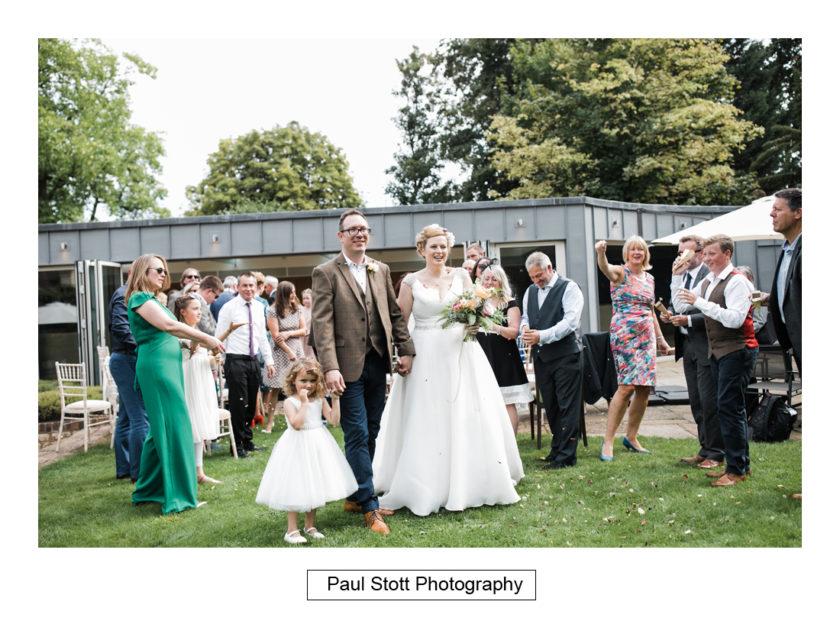 wedding guests lawn quat de saision 001 - Quat'Saisons Wedding Photography - Angela and Paul