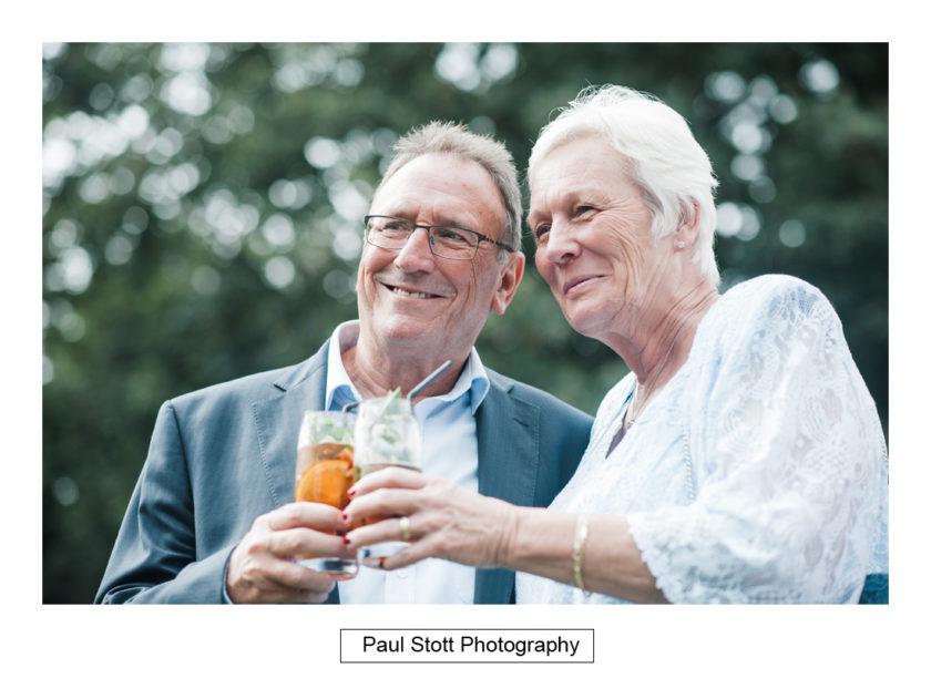 wedding guests lawn quat de saision 002 - Quat'Saisons Wedding Photography - Angela and Paul