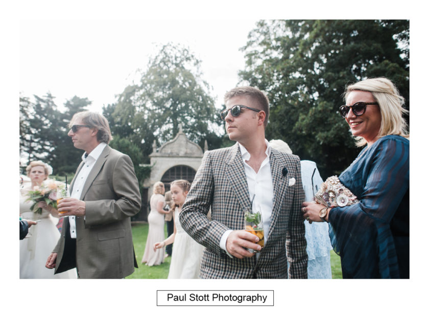 wedding guests lawn quat de saision 005 - Quat'Saisons Wedding Photography - Angela and Paul