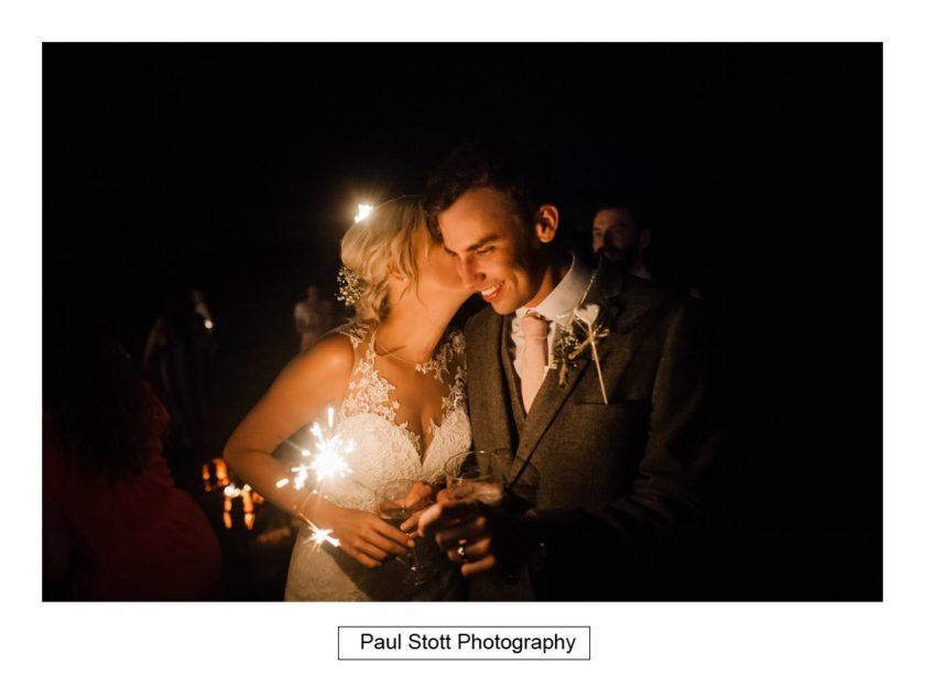 wedding sparklers 001 - Crow Farm - Gemma and Phil
