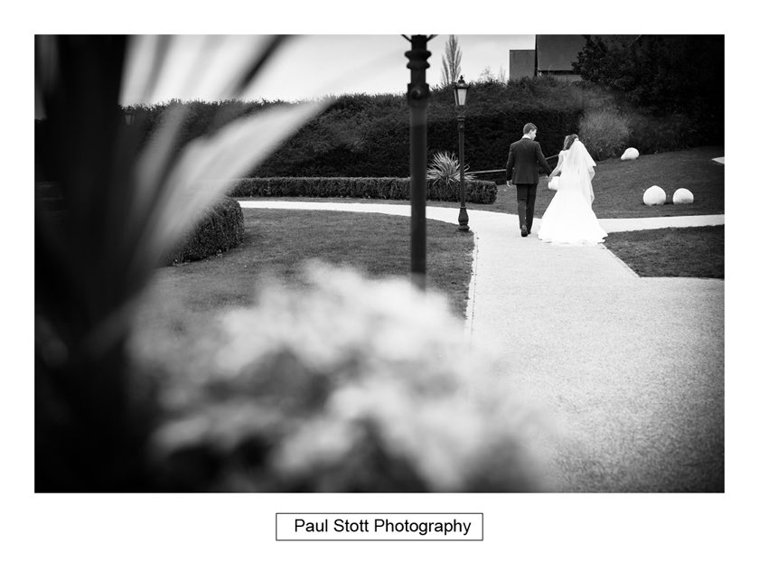 Bride Groom Froyle Park 003 - Froyle Park Wedding Photography - Rhian and George