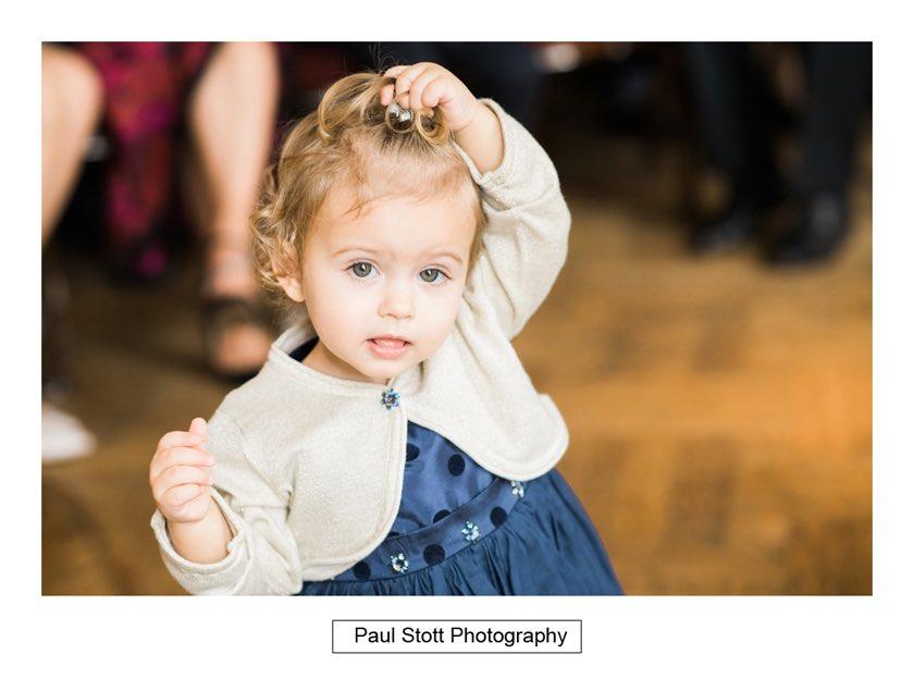 before wedding ceremony 002 - Hampton Court House Wedding Photography - Phil and Vittoria