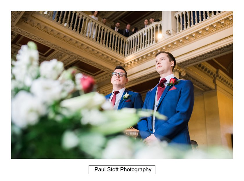 before wedding ceremony 003 - Hampton Court House Wedding Photography - Phil and Vittoria