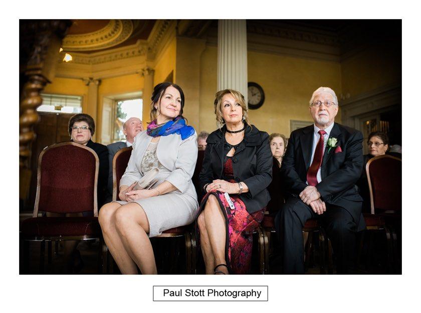 before wedding ceremony 004 - Hampton Court House Wedding Photography - Phil and Vittoria