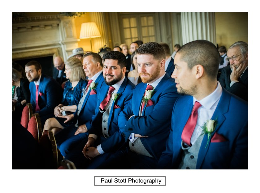 before wedding ceremony 005 - Hampton Court House Wedding Photography - Phil and Vittoria
