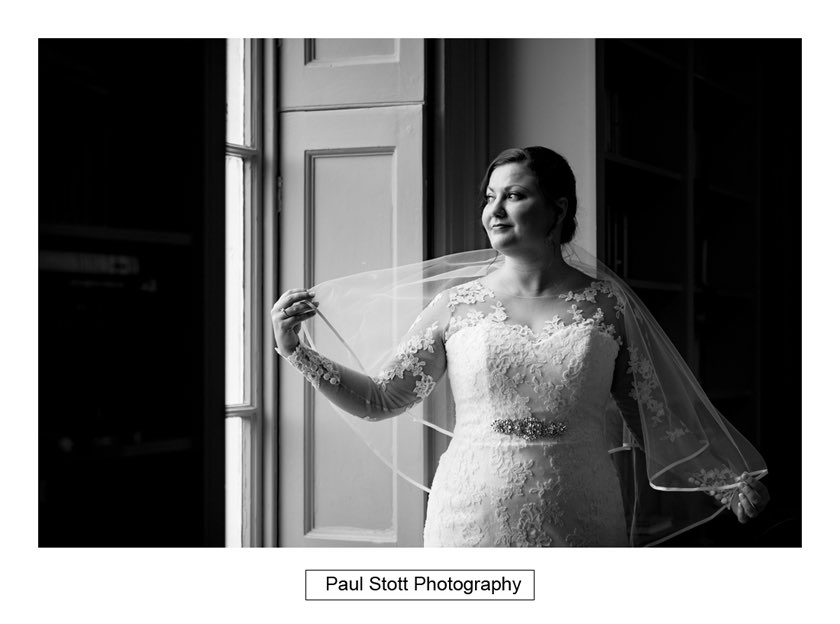 bride before wedding ceremony hampton court house 001 - Hampton Court House Wedding Photography - Phil and Vittoria