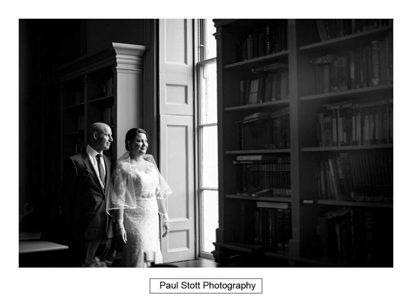bride before wedding ceremony hampton court house 002 - Hampton Court House Wedding Photography - Phil and Vittoria
