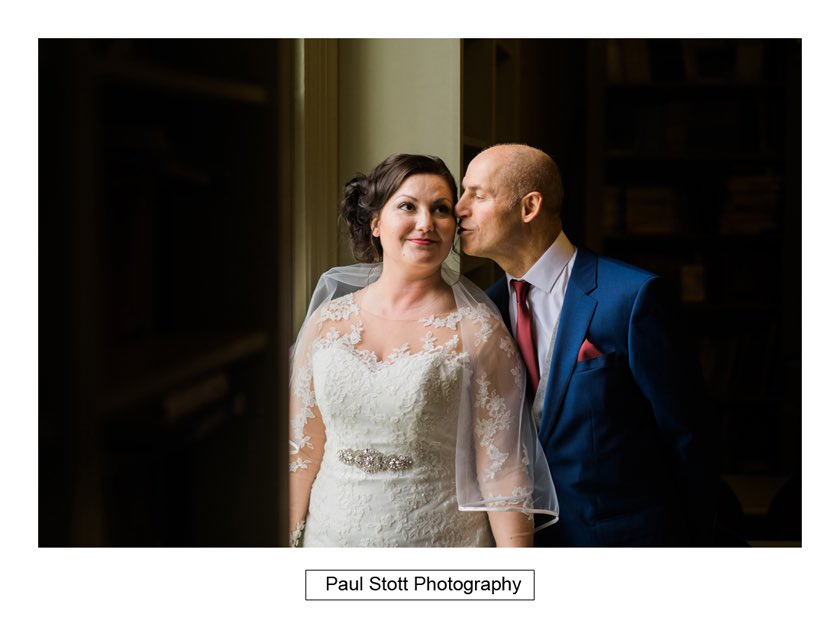bride before wedding ceremony hampton court house 003 - Hampton Court House Wedding Photography - Phil and Vittoria