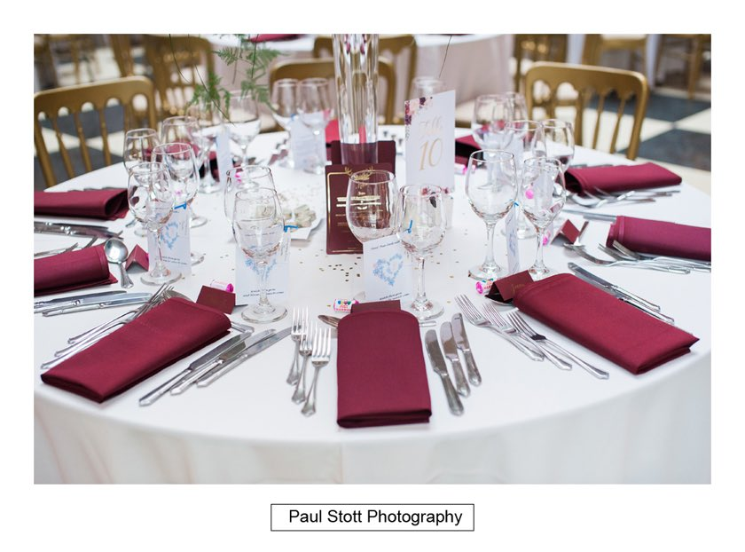 wedding breakfast room hampton court house 002 - Hampton Court House Wedding Photography - Phil and Vittoria
