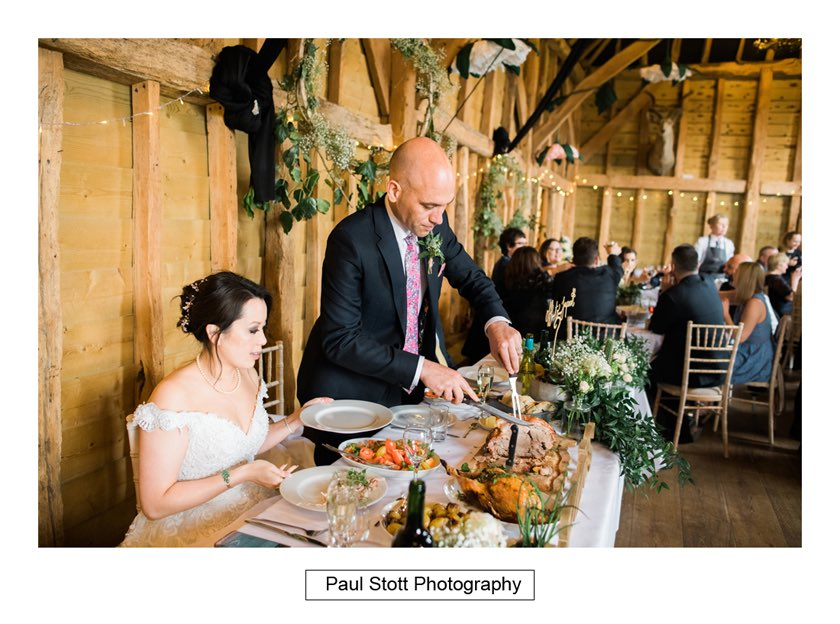 wedding breakfast taylors farm retreat - Wedding Photography Taylors Farm - Sylvie and Paul