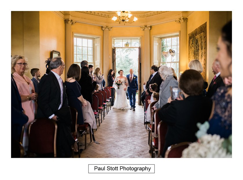 wedding ceremony hampton court house 001 - Hampton Court House Wedding Photography - Phil and Vittoria
