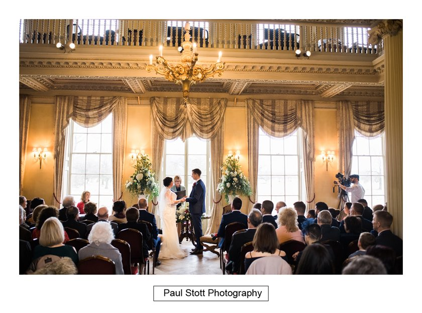 wedding ceremony hampton court house 005 - Hampton Court House Wedding Photography - Phil and Vittoria