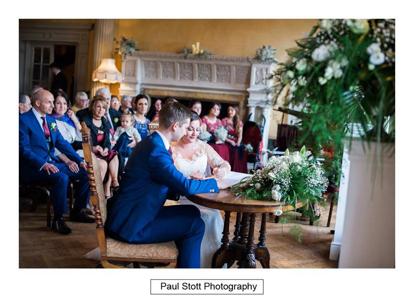 wedding ceremony hampton court house 008 - Hampton Court House Wedding Photography - Phil and Vittoria