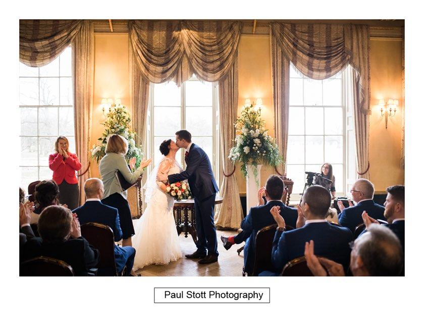 wedding ceremony hampton court house 009 - Hampton Court House Wedding Photography - Phil and Vittoria