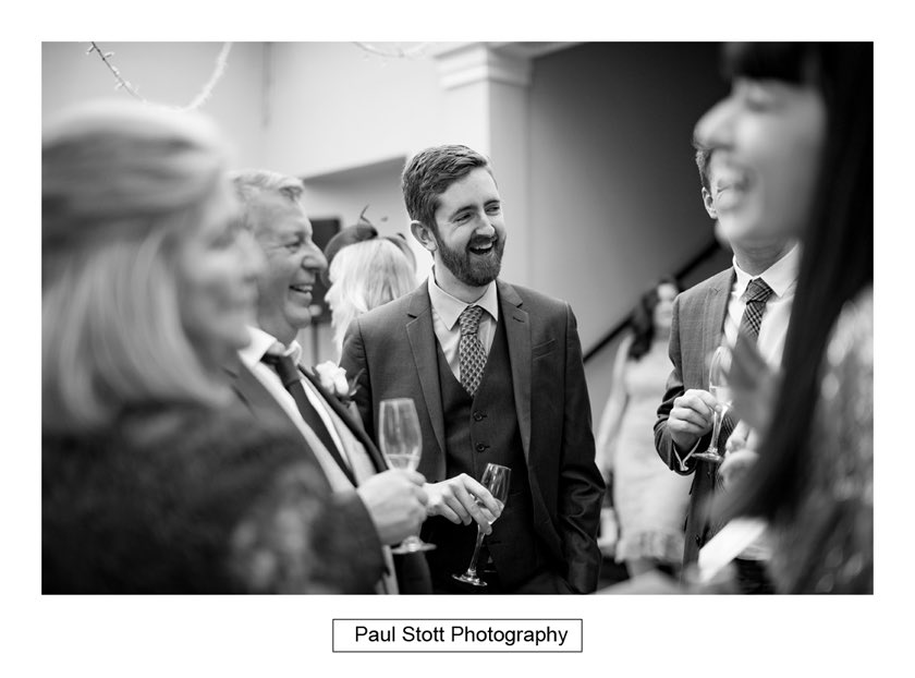 wedding guests 002 - Hampton Court House Wedding Photography - Phil and Vittoria