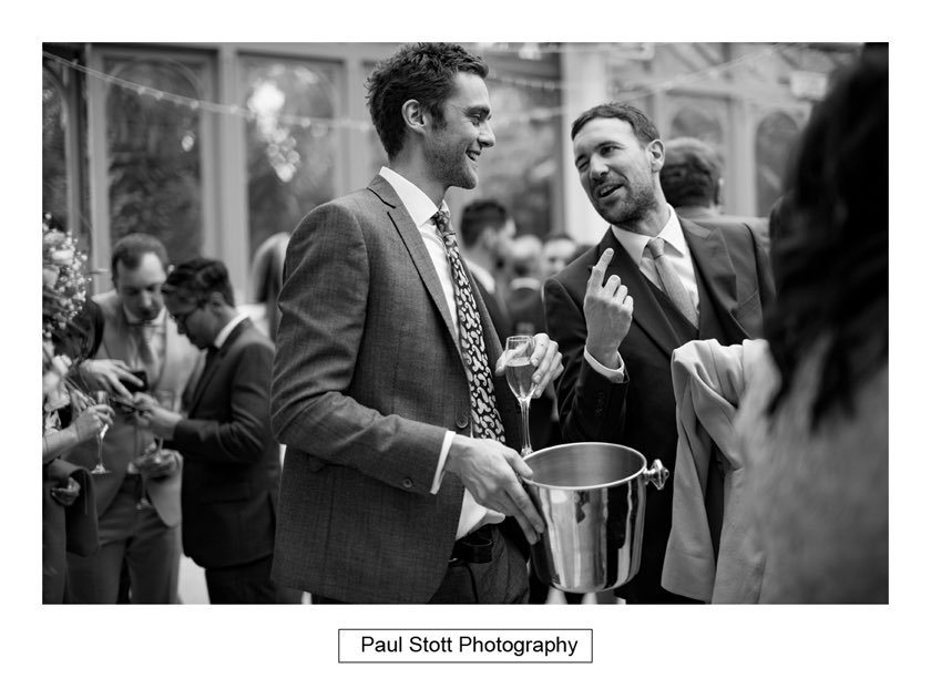 wedding guests 004 - Hampton Court House Wedding Photography - Phil and Vittoria