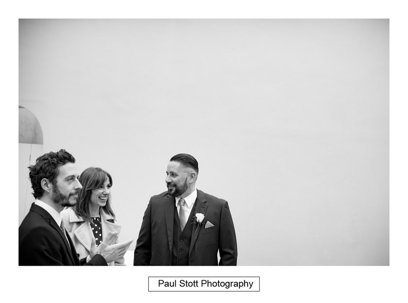 wedding guests 005 - Hampton Court House Wedding Photography - Phil and Vittoria