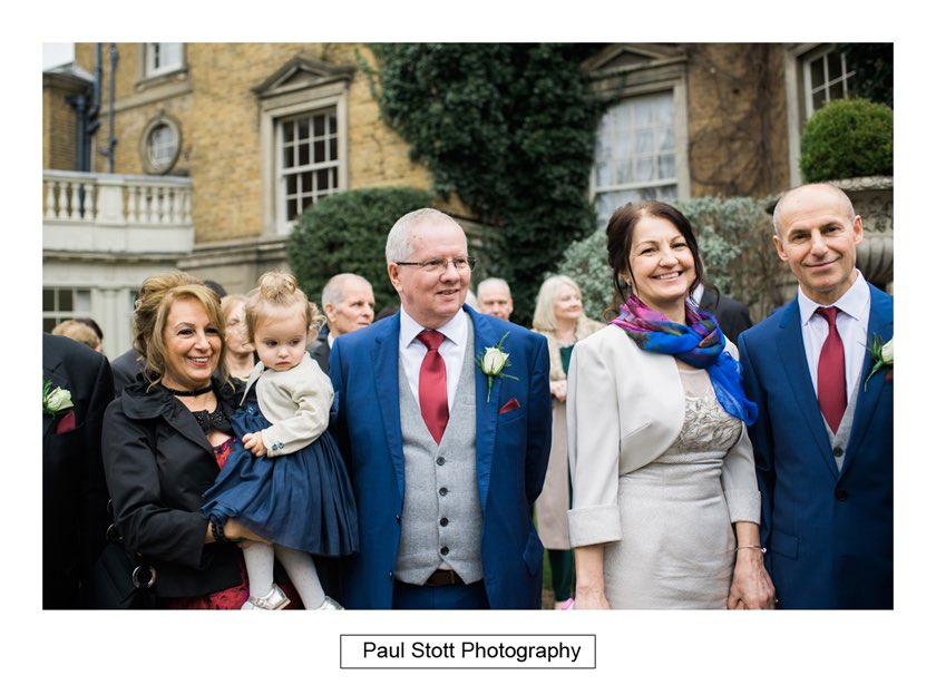 wedding guests hampton court house 001 - Hampton Court House Wedding Photography - Phil and Vittoria