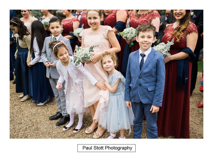 wedding guests hampton court house 002 - Hampton Court House Wedding Photography - Phil and Vittoria