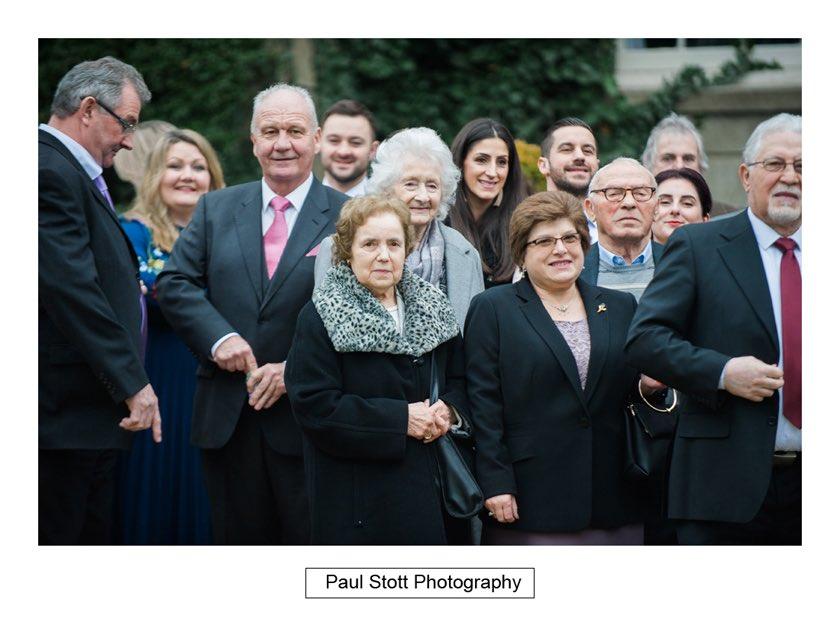 wedding guests hampton court house 003 - Hampton Court House Wedding Photography - Phil and Vittoria