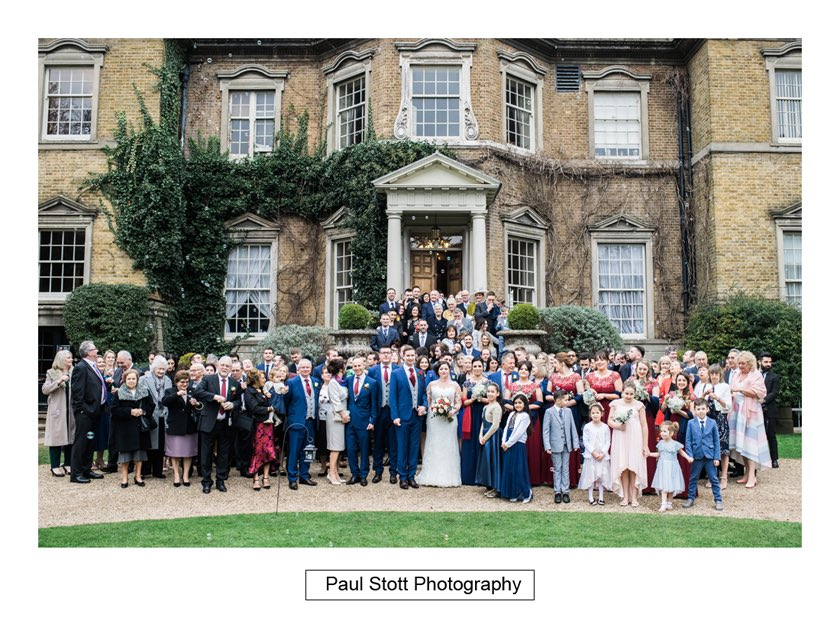 wedding guests hampton court house 005 - Hampton Court House Wedding Photography - Phil and Vittoria
