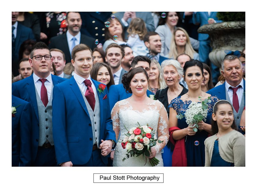 wedding guests hampton court house 006 - Hampton Court House Wedding Photography - Phil and Vittoria