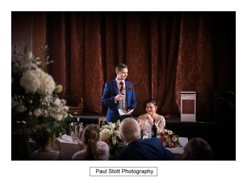wedding speeches hampton court house 003 - Hampton Court House Wedding Photography - Phil and Vittoria