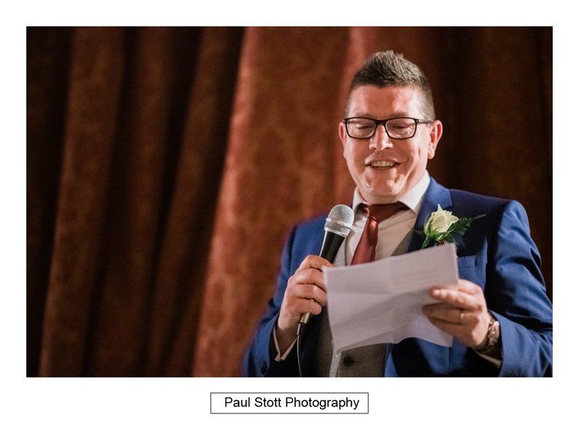 wedding speeches hampton court house 005 - Hampton Court House Wedding Photography - Phil and Vittoria