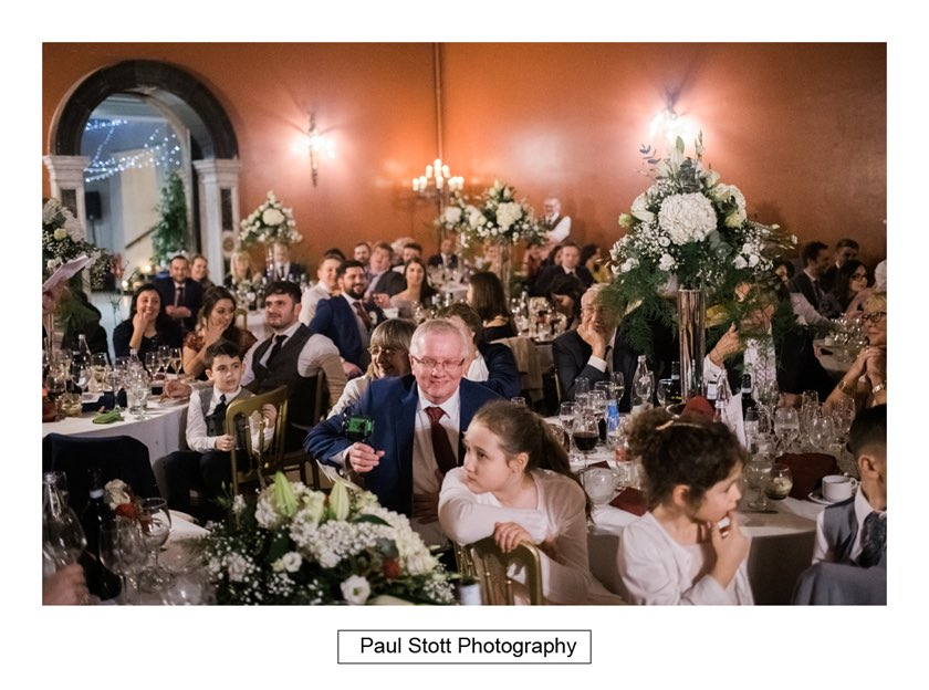 wedding speeches hampton court house 008 - Hampton Court House Wedding Photography - Phil and Vittoria