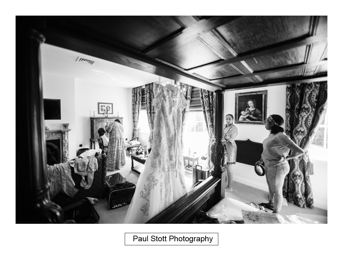 008 orsett hall bridal preparation 008 - Wedding Photography Orsett Hall - Abisola and Abel