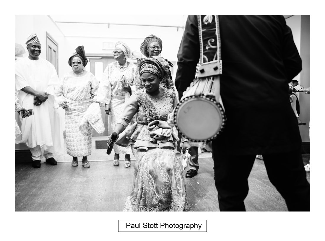 016 orsett hall nigerian engagement ceremony 002 - Wedding Photography Orsett Hall - Abisola and Abel