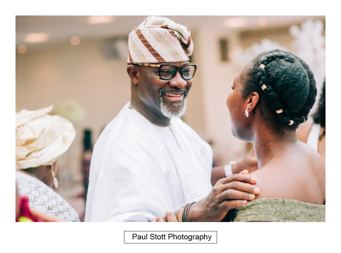 018 orsett hall nigerian engagement ceremony 004 - Wedding Photography Orsett Hall - Abisola and Abel