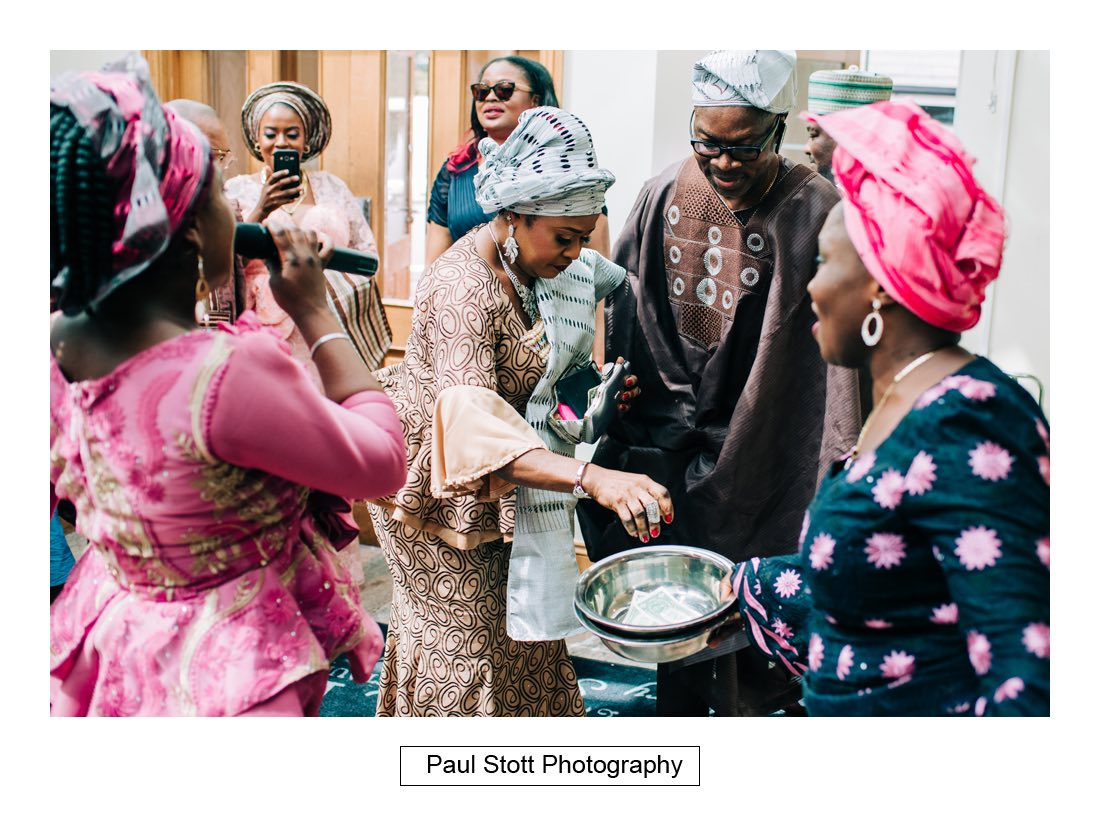 020 orsett hall nigerian engagement ceremony 006 - Wedding Photography Orsett Hall - Abisola and Abel