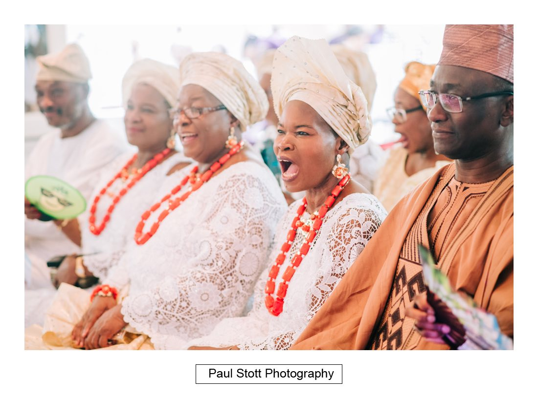 024 orsett hall nigerian engagement ceremony 010 - Wedding Photography Orsett Hall - Abisola and Abel