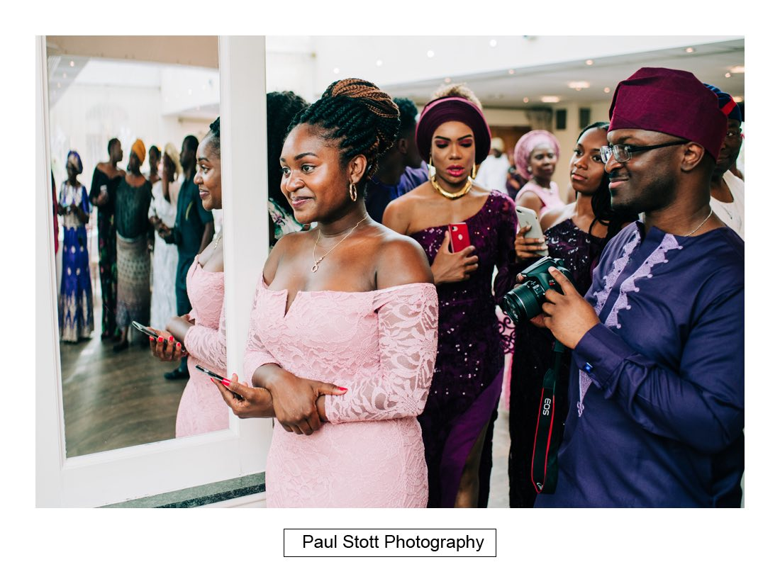 029 orsett hall nigerian engagement ceremony 015 - Wedding Photography Orsett Hall - Abisola and Abel