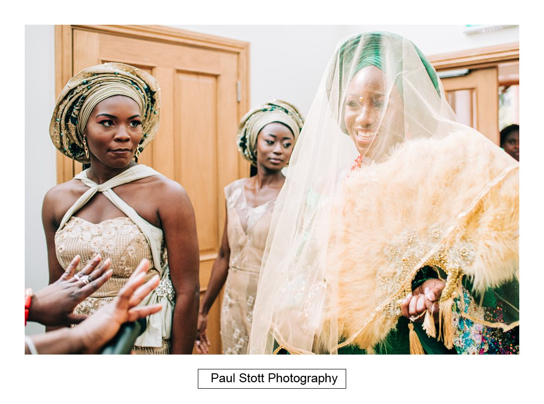 030 orsett hall nigerian engagement ceremony 016 - Wedding Photography Orsett Hall - Abisola and Abel