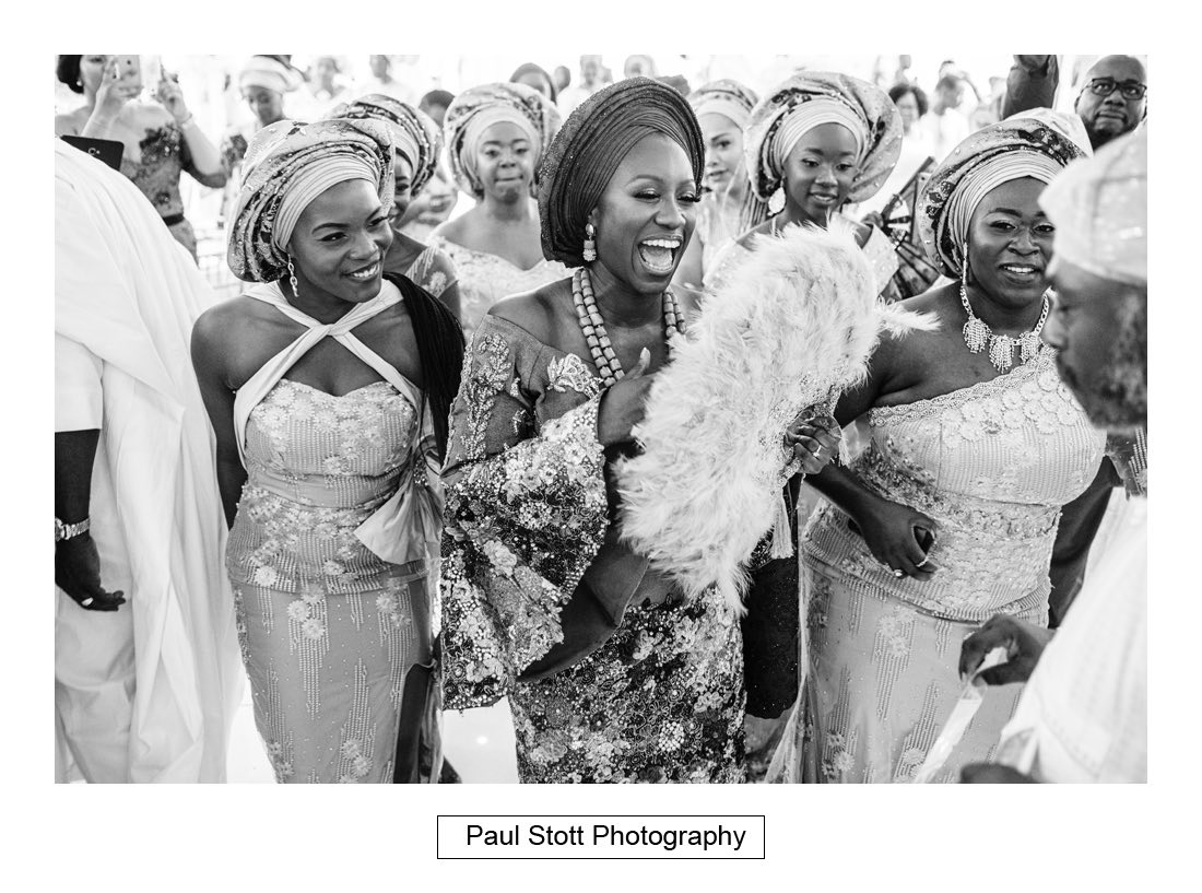 033 orsett hall nigerian engagement ceremony 019 - Wedding Photography Orsett Hall - Abisola and Abel
