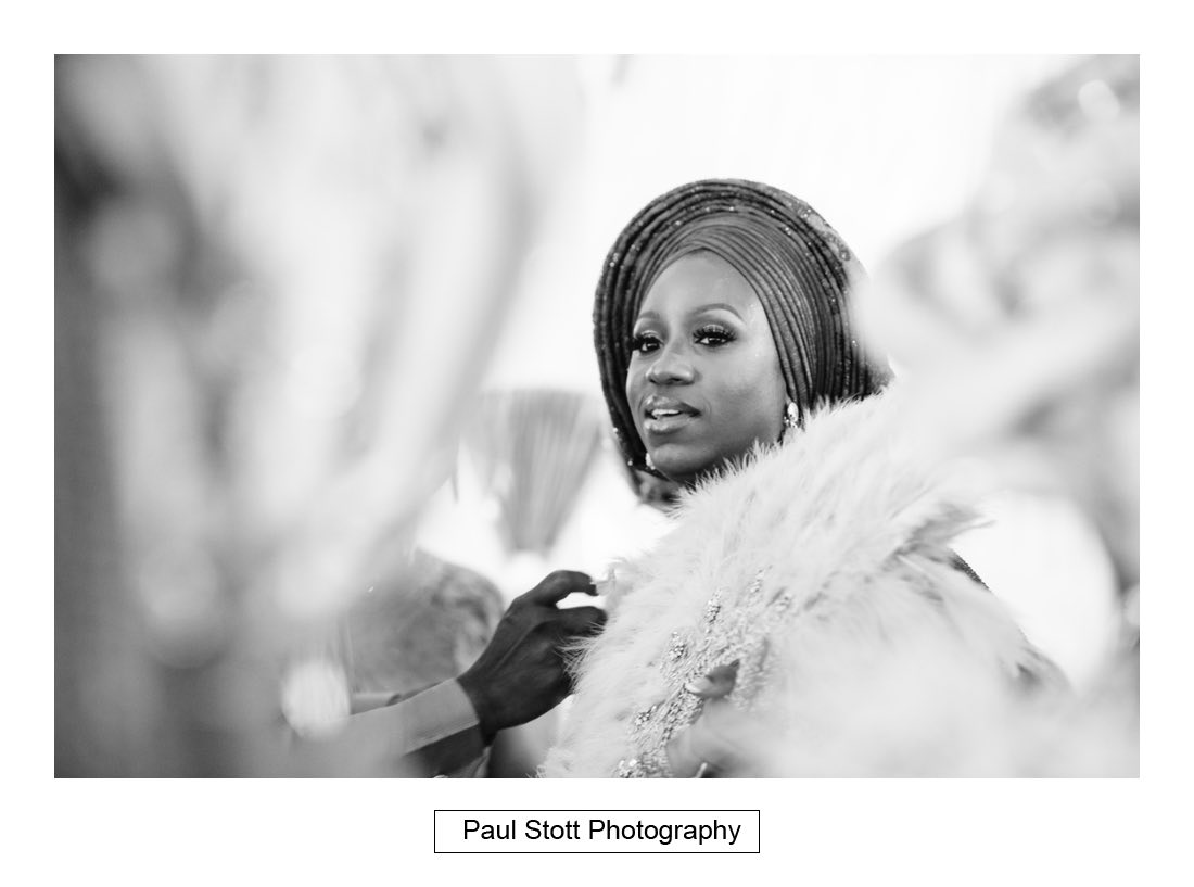 036 orsett hall nigerian engagement ceremony 022 - Wedding Photography Orsett Hall - Abisola and Abel