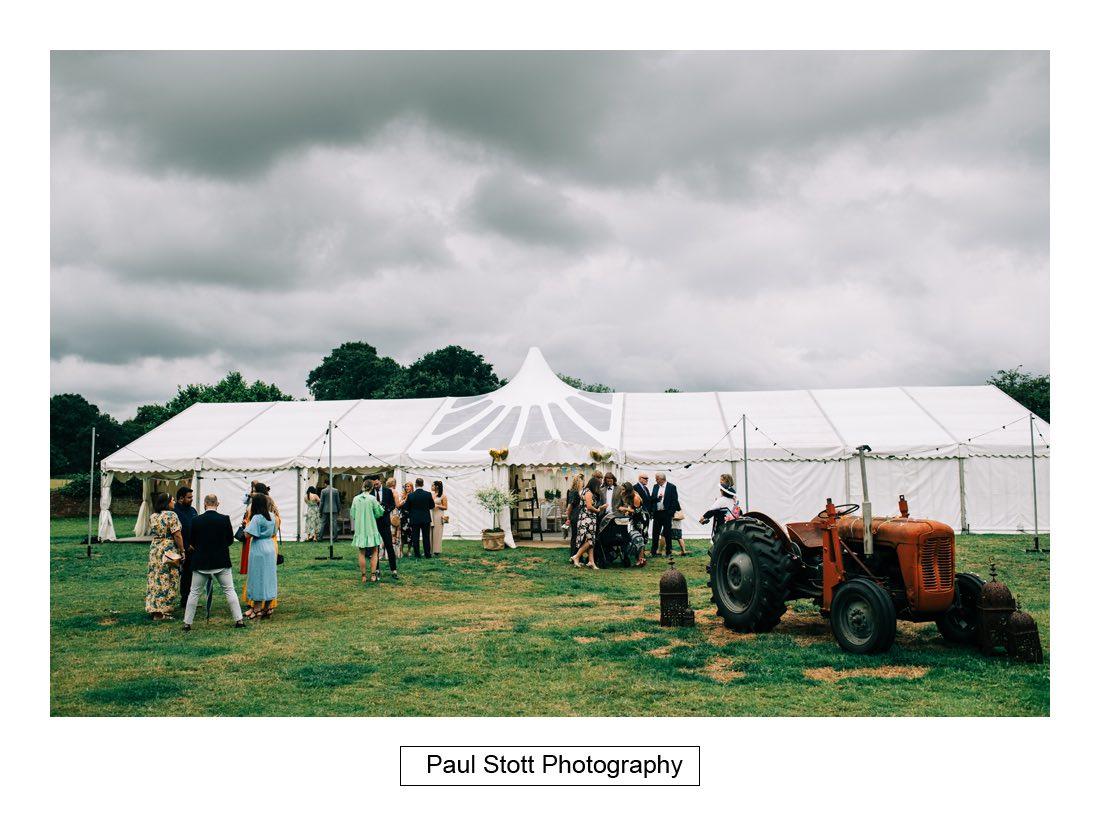070 woodlands farm wedding ceremony 010 - Wedding Photography Woodlands Farm  - Misha and Greg