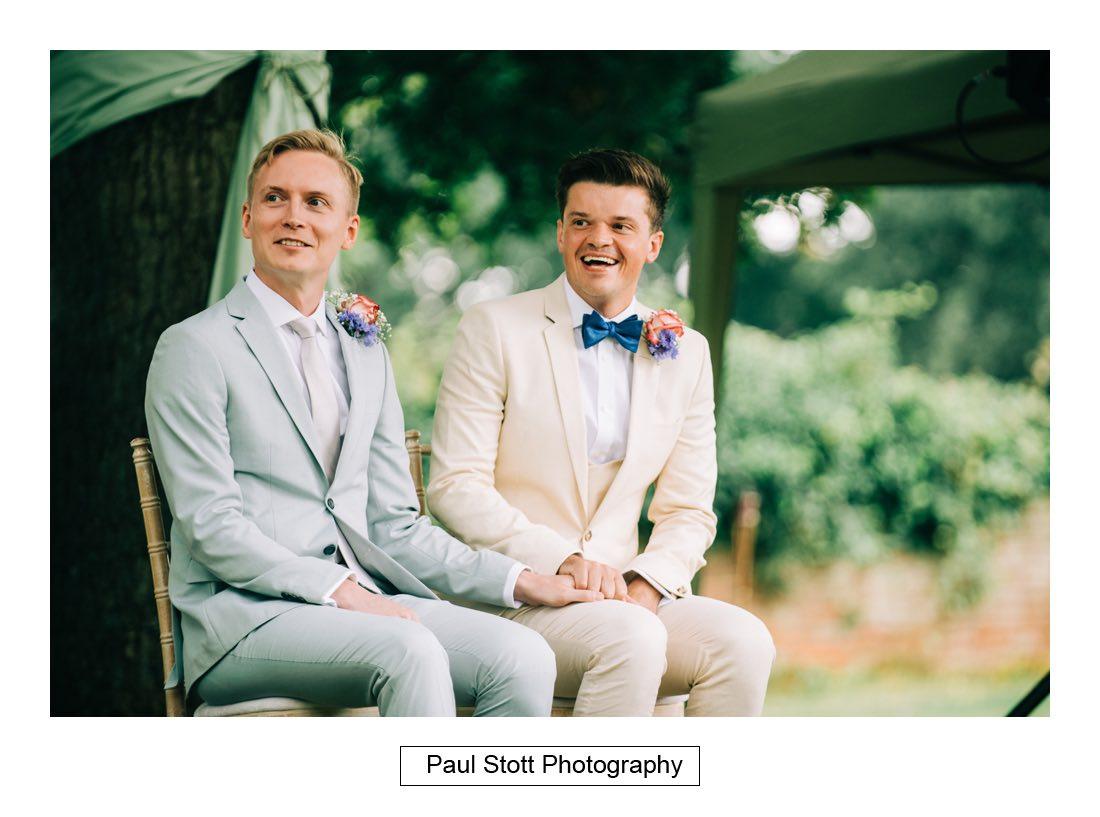 082 woodlands farm wedding ceremony 022 - Wedding Photography Woodlands Farm  - Misha and Greg
