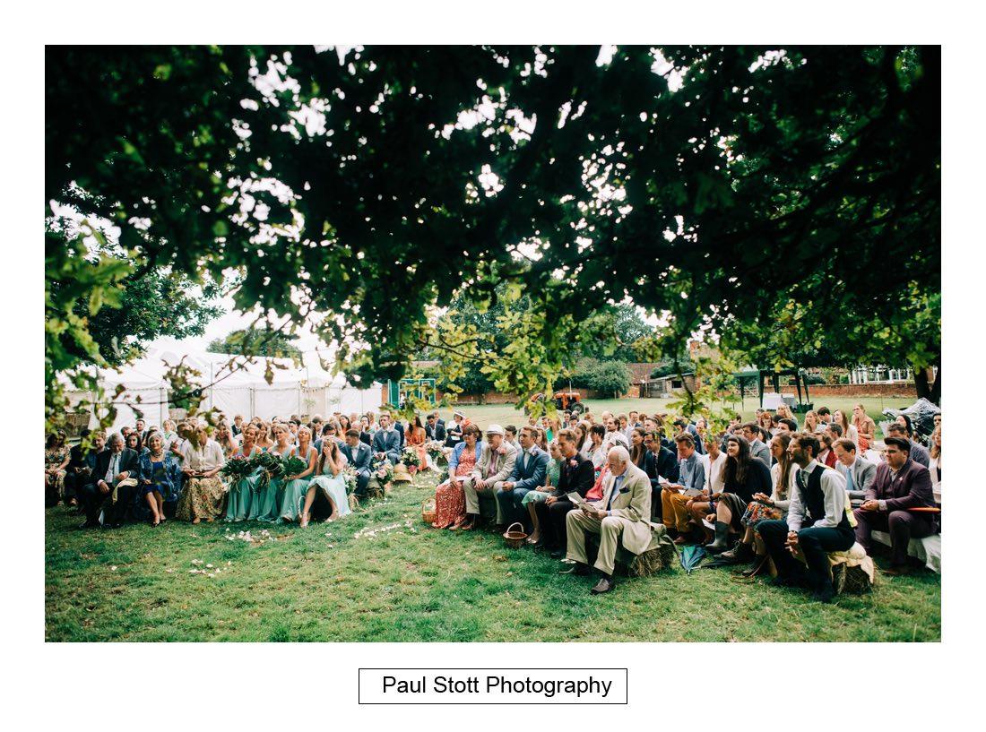 083 woodlands farm wedding ceremony 023 - Wedding Photography Woodlands Farm  - Misha and Greg