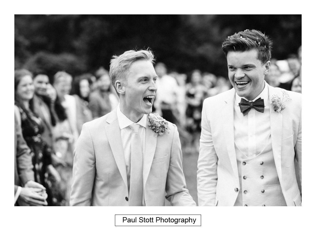 095 woodlands farm confetti 003 - Wedding Photography Woodlands Farm  - Misha and Greg