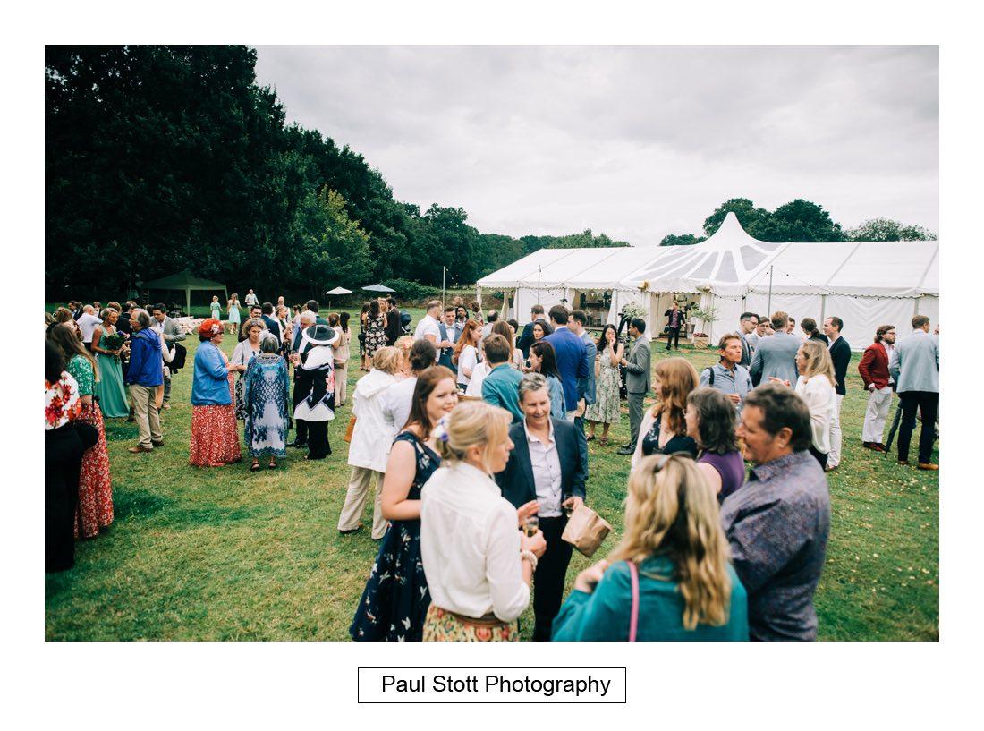 096 woodlands farm wedding guests 001 - Wedding Photography Woodlands Farm  - Misha and Greg