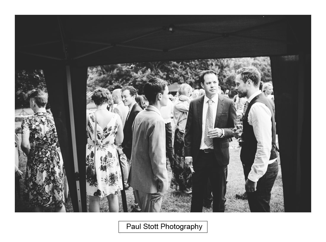 097 woodlands farm wedding guests 002 - Wedding Photography Woodlands Farm  - Misha and Greg