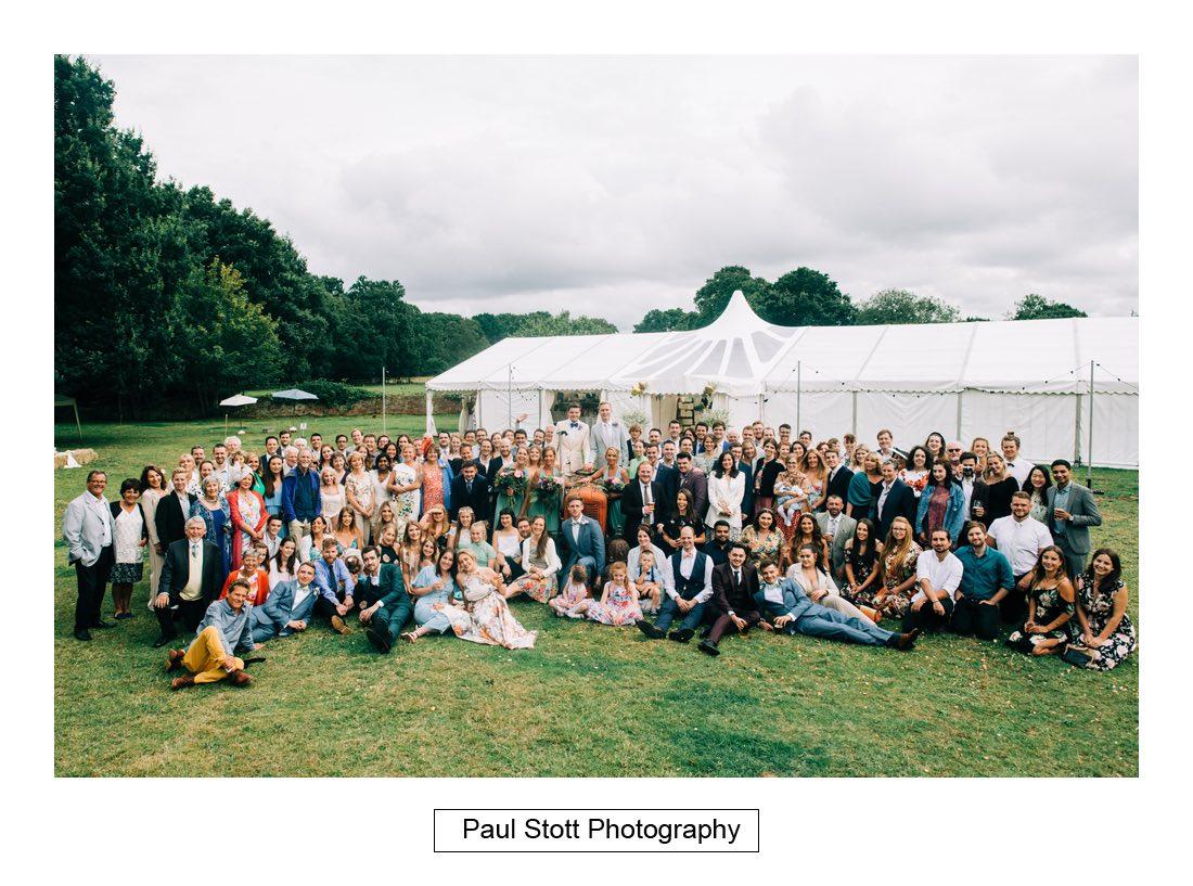 115 woodlands farm group shots 006 - Wedding Photography Woodlands Farm  - Misha and Greg