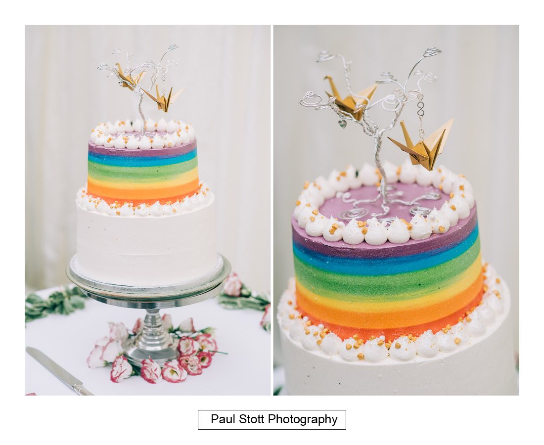 117 wedding cake - Wedding Photography Woodlands Farm  - Misha and Greg