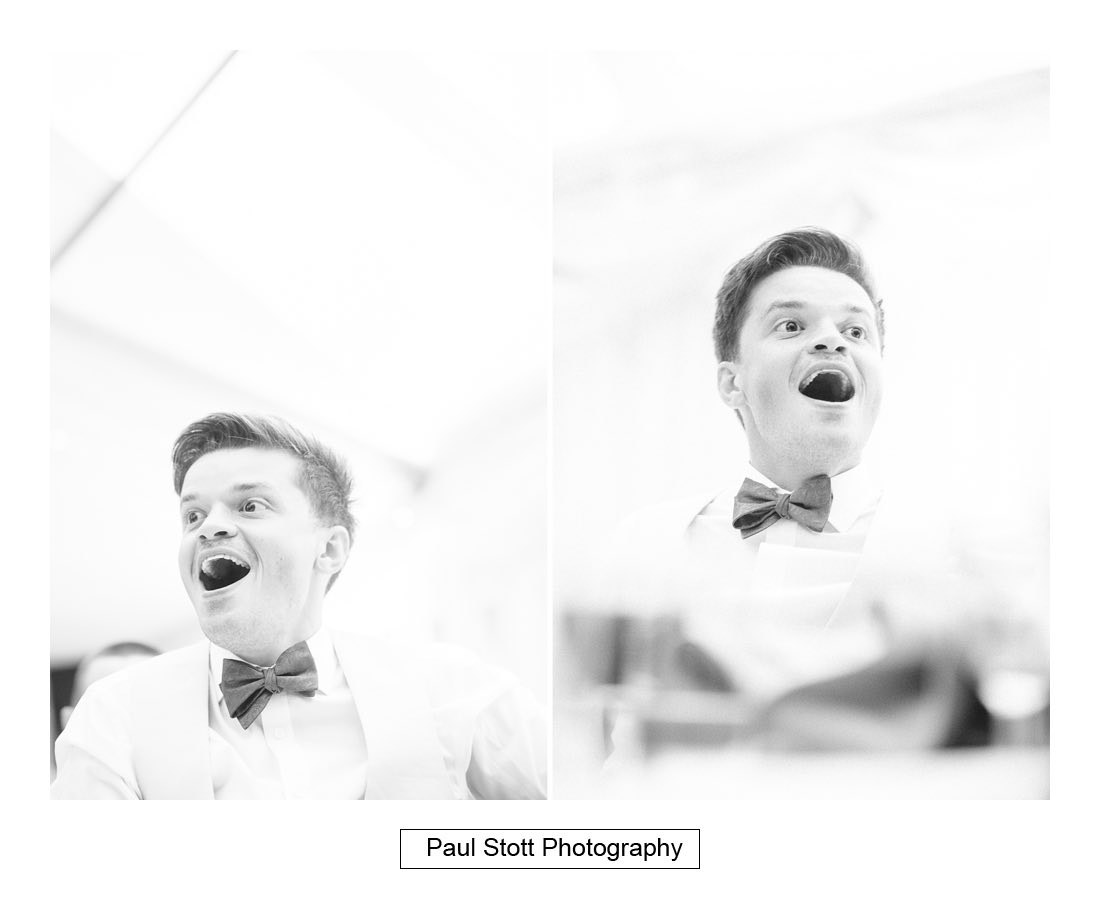 118 groom wedding speeches - Wedding Photography Woodlands Farm  - Misha and Greg