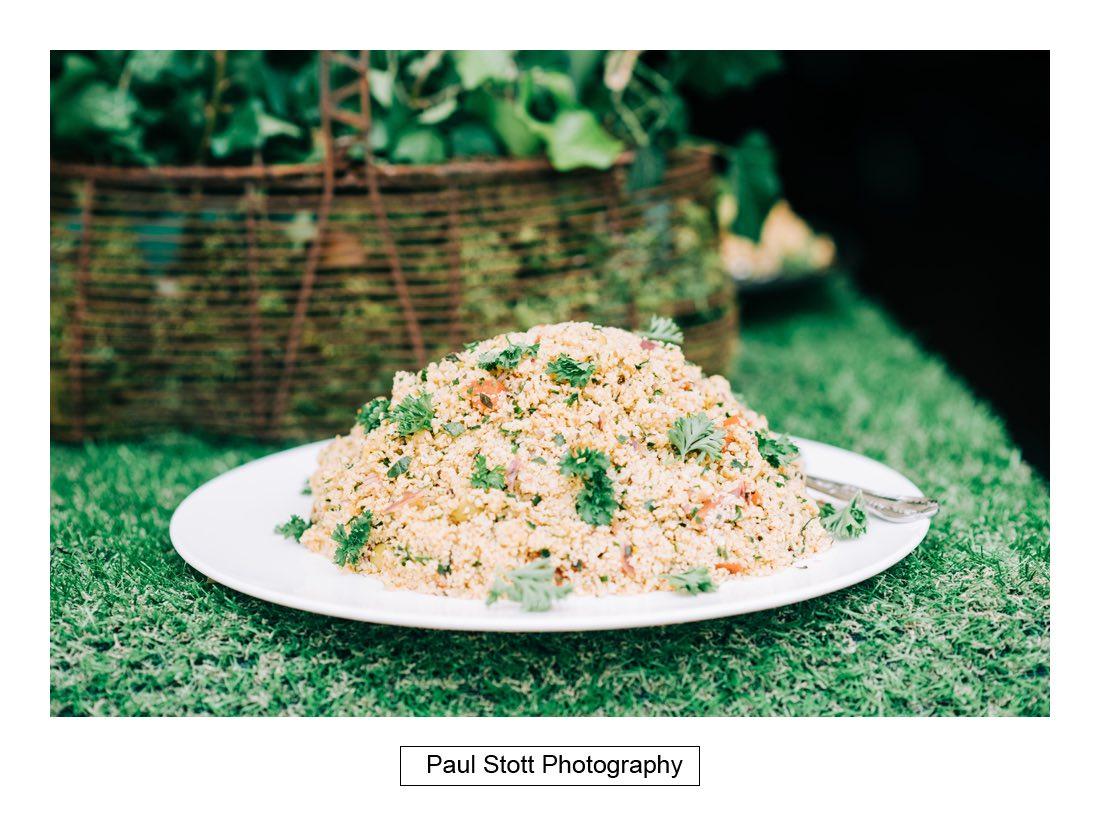 119 wedding food 001 - Wedding Photography Woodlands Farm  - Misha and Greg