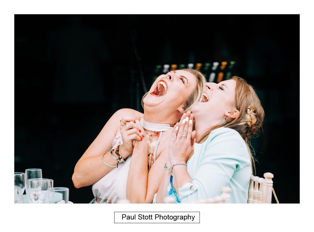 124 woodlands farm wedding speeches 004 - Wedding Photography Woodlands Farm  - Misha and Greg